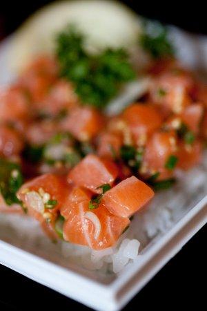 Saint-Cannat, ฝรั่งเศส: tartare de saumon