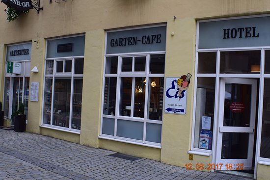 Altreuter Cafe Hotel Konditorei Patisserie : Fachada