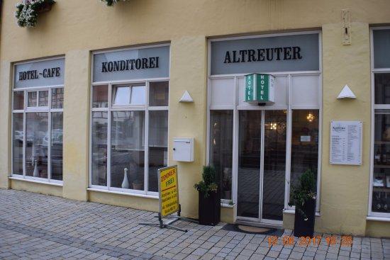 Altreuter Cafe Hotel Konditorei Patisserie : Fachada principal