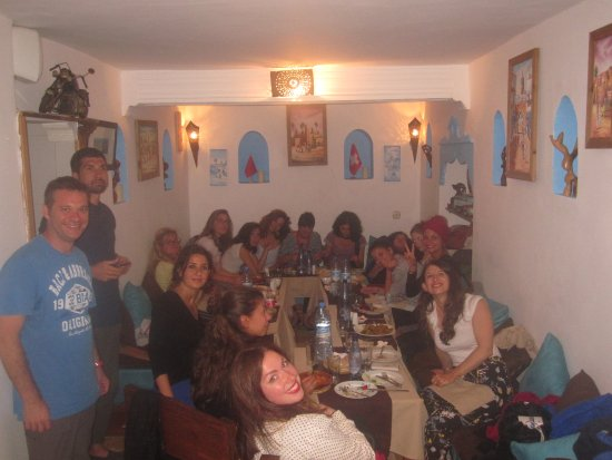 Legnaoui : Groupe Italien  Diner