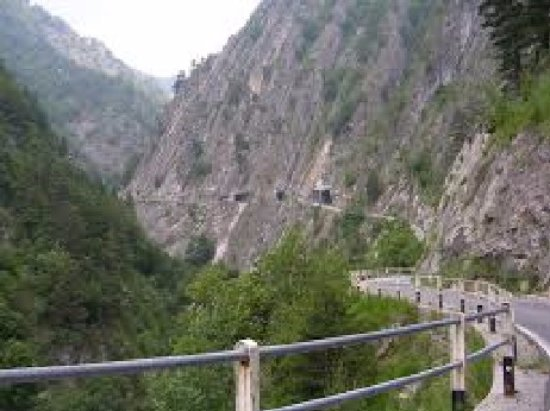 Elva, Italy: Parte percorribile