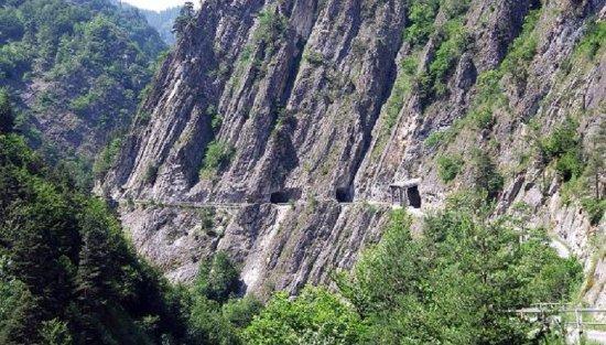 Elva, Italy: Vista del percorso