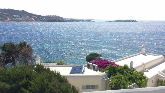 Adonis Hotel: view from room 200