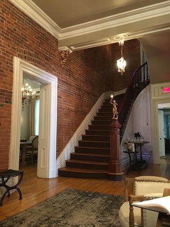 Waterloo, Canadá: escalier vers les chambres
