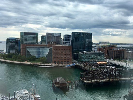 Boston Harbor Hotel: Just a beautiful view!