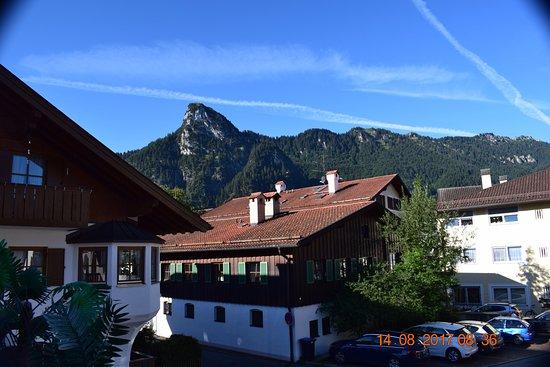 Desde La Terraza Picture Of Hotel Kopa Oberammergau