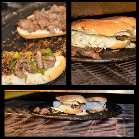 Childersburg, AL: Our Philly Cheese Steak Sandwich with grilled peppers and onions