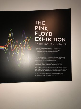 Pink floyd exhibition picture of v a victoria and for Pink floyd exhibition