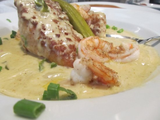 Pages Okra Grill: Our Famous Shrimp and Grits