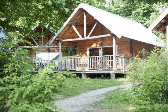Camping Huttopia Versailles : Cabane
