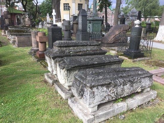 Necropolis of Donskoi Monastery