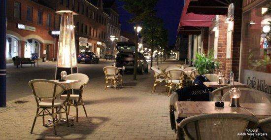 Haslev, Dinamarca: Udendørs servering