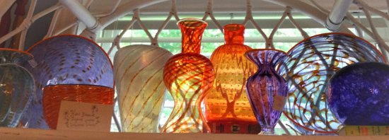 Ocean View, Nueva Jersey: Glassware modern and antique
