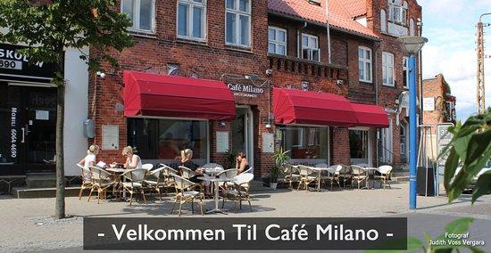 Haslev, Dinamarca: Velkommen til Cafe Milano