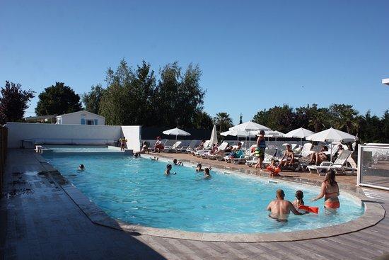Camping des 2 plages saint palais sur mer royan voir for Camping st palais sur mer avec piscine