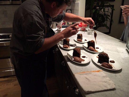 Hotel ZaZa Dallas: Dessert! Really?