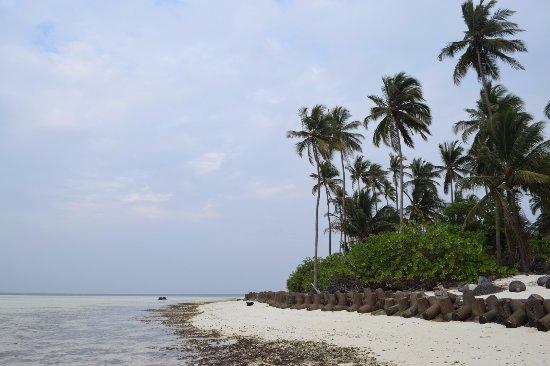 Bangaram, Indien: View of the Island Western Coast