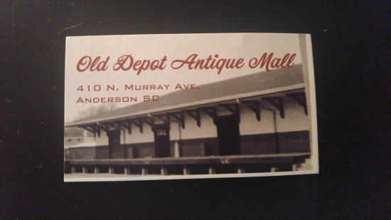 Anderson, Carolina del Sur: Old Depot Mall