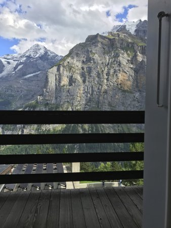 Hotel Eiger: View from room