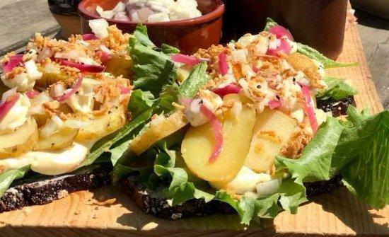 Ranum, Dinamarca: 2 Kartoffelmadder på et brædt
