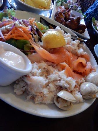New Quay, Ireland: Seafood Platter