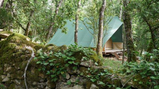 Vagnas, فرنسا: Tente Toile et Bois Bonaventure