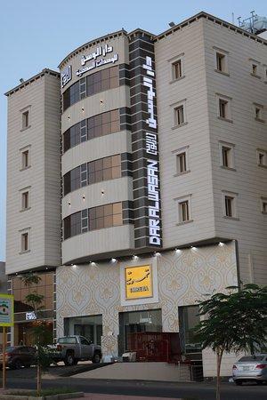 Alwasan aparthotel abha saudiarabien omd men och for Appart hotel 45
