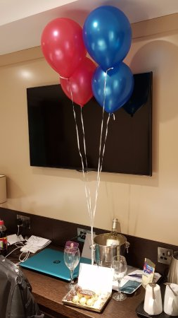 surprise birthday treats for my girlfriend picture of premier inn