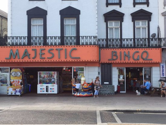 Great Yarmouth, UK: Majestic Amusements & Bingo