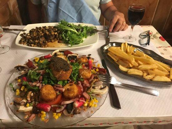 La Guinguette Gaudoise : Les assiettes sont copieuses....