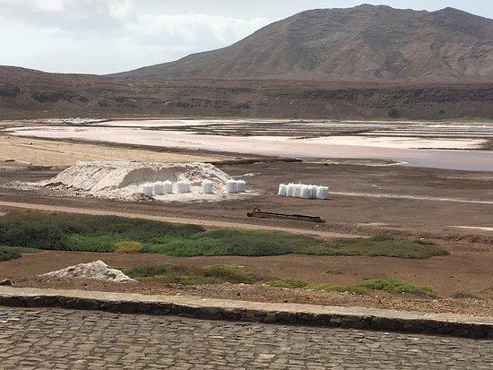 Pedra de Lume, Cabo Verde: Visuale dall'alto