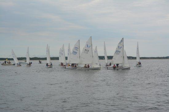 Stonington Harbor Yacht Club Foto