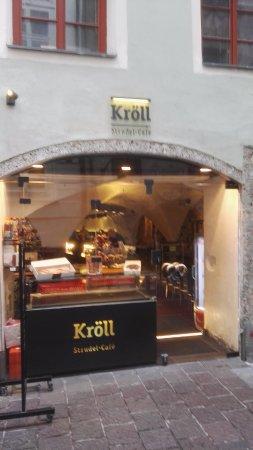 Strudel-Cafe Kröll: Esterno