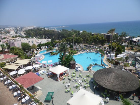 Atlantica Bay Hotel: View from room