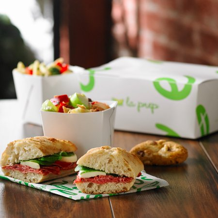 Mountain View, Canadá: Catering Panini Lunch Box