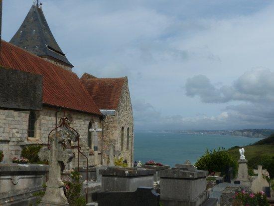 Varengeville-sur-Mer, Fransa: cimetière