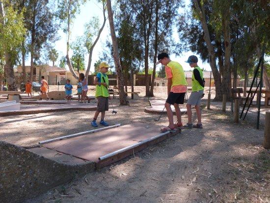 Camping les Palmiers : Mini-golf du camping