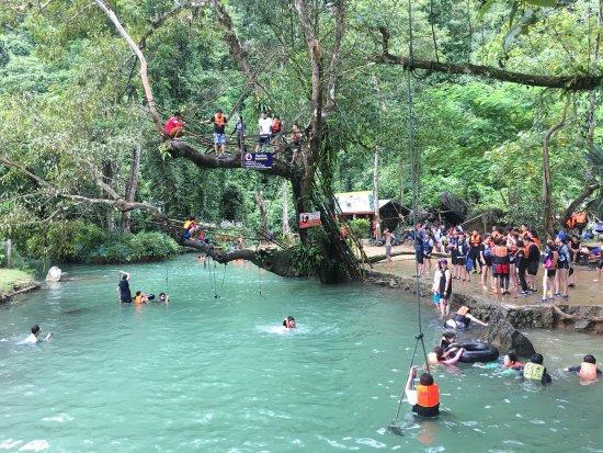Tham Phu Kham Cave and Blue Lagoon : photo0.jpg