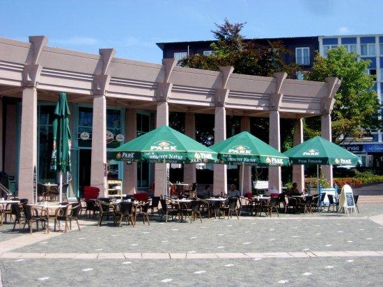 Pirmasens, ألمانيا: Der Terrassenbereich