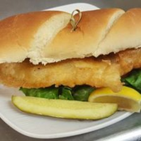 Sarver, Pensilvania: Codfish Sandwich