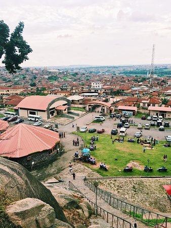 Abeokuta, Nigeria: Visit to Olumo rock. #olumorock