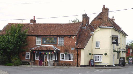Sutton Scotney, UK: Coach and Horses.