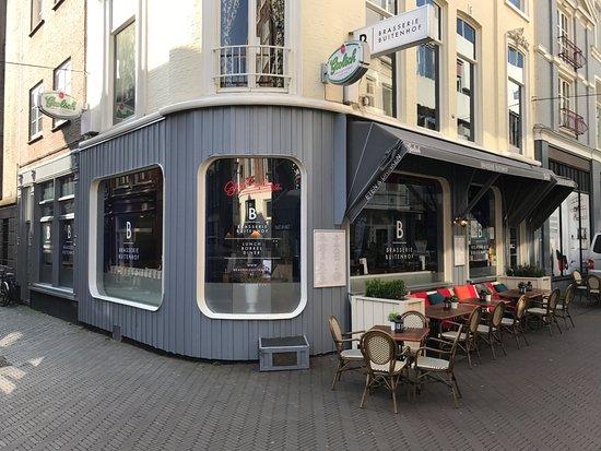 The outside view of Brasserie Buitenhof