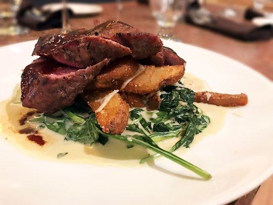 MT's Local Kitchen & Wine Bar: Steak Frittes