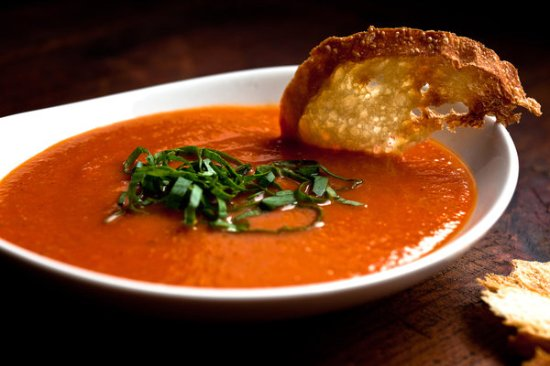Madison, FL: Daily Soup Selection Heartty Basil Tomato (shown)