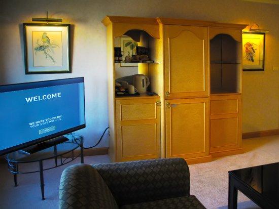 Room 1812 Living Unit With Mini Bar And Fridge