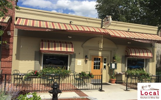 MT's Local Kitchen & Wine Bar: Located on Main Street, with outdoor seating