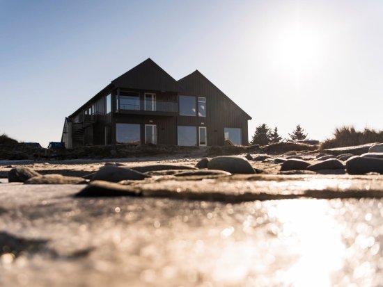 Sola Municipality, Noruega: Strandhuset from the water