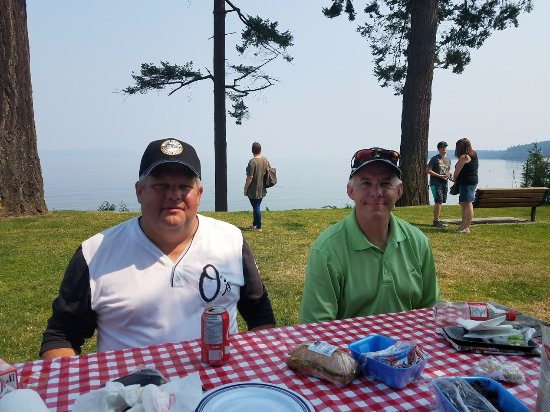 Classic Car Tours: View of the bay from our picnic lunch spot.
