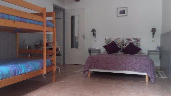Sainte-Soline, Francja: Bergerie bnb room
